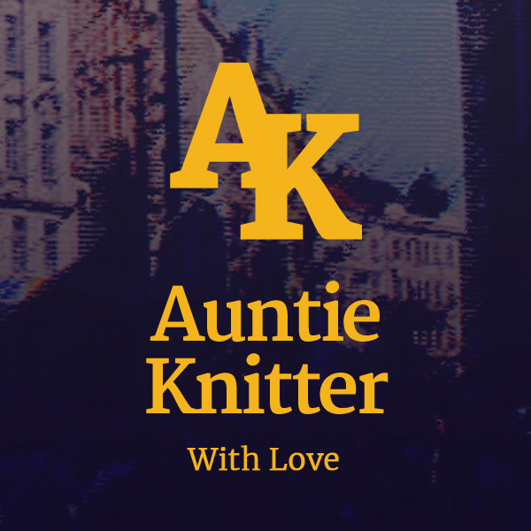 Auntie Knitter the final logo